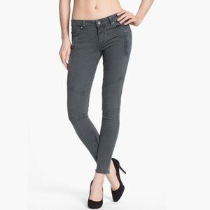 PAIGE Moto Skinny Jeans